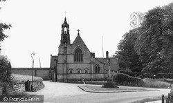 Swynnerton, Roman Catholic Church c.1955