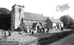 Swynnerton, St Mary's Church c.1955