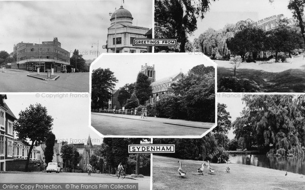 Photo of Sydenham, Composite c.1955