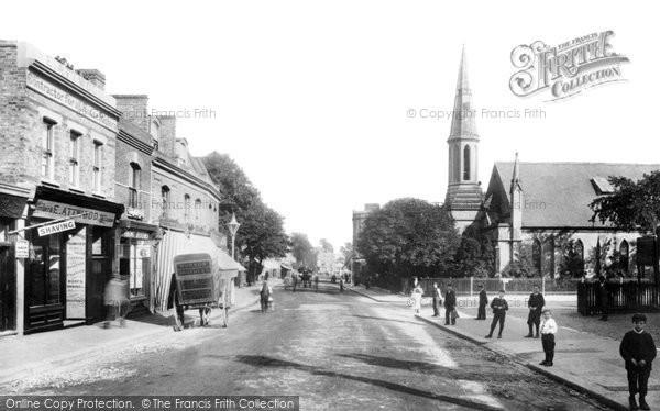Photo of Sydenham, High Road 1898