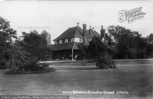 Photo of Sydenham, Recreation Ground 1898