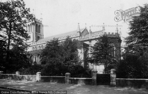 Photo of Sydenham, St Bartholomew's Church 1898