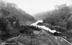 Above The Railway 1898, Symonds Yat