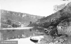 Ferry c.1872, Symonds Yat