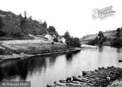River Wye And Boats 1893, Symonds Yat
