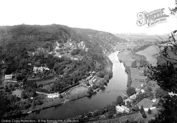 Symonds Yat, River Wye and Doward Hill 1914