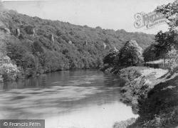 The Seven Sisters Rocks, On The Wye c.1890, Symonds Yat