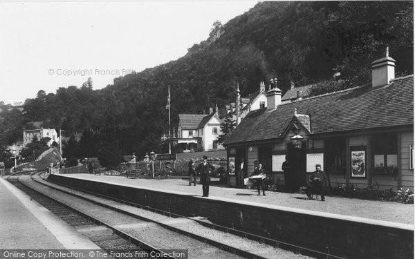 Symonds Yat, The Station 1898