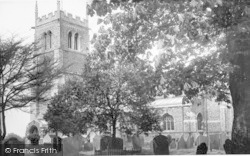Syston, Church Of St Peter And St Paul c.1960