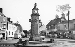 Syston, Clock Tower c.1965