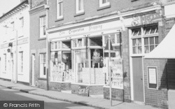 Syston, Co-Operative Shop, High Street c.1965