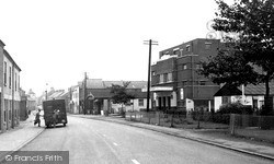 Syston, Melton Road c.1955
