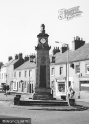 Syston, Memorial Clock Tower c.1965