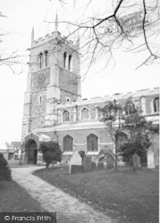 Syston, Parish Church c.1965