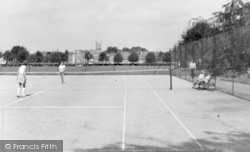 Syston, Tennis Courts, The Park c.1960