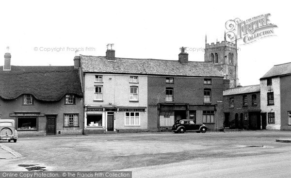 Photo of Syston, The Green c.1955