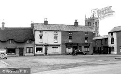 Syston, The Green c.1955