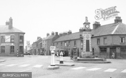 Syston, The Memorial c.1955