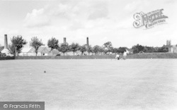 Syston, The Park Bowling Green c.1965