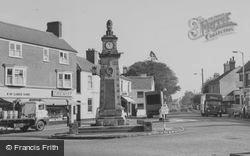 Syston, The War Memorial c.1965