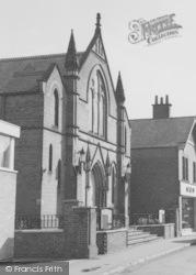 Syston, The Wesleyan Methodist Chapel c.1965