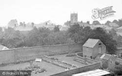 Syston, View Overlooking Park c.1955