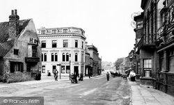 Tadcaster, Bridge Street 1907