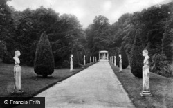 Tadcaster, Grimston Hall, Emperor's Walk 1906