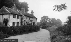 Tadcaster, Old Cottages, Riverside c.1955