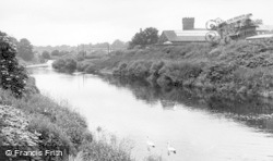 Tadcaster, The River Wharfe c.1955