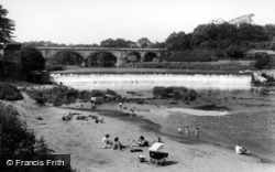 Tadcaster, The Weir c.1960