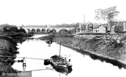 Tadcaster, View From Bridge 1906