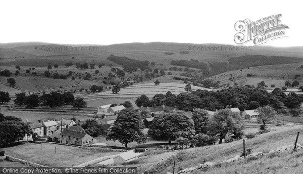 Taddington, the Dale c1960