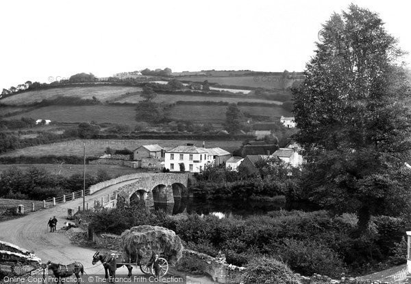 Taddiport, the Village 1923