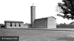 Tadley, Great St Mary's Church c.1965