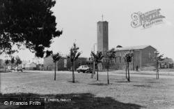 Tadley, St Mary's Church c.1965