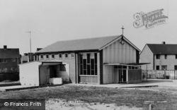 Tadley, St Michael's Church Hall c.1965
