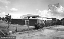 Tadley, Telephone Exchange c.1965