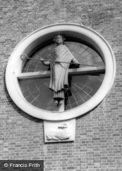 Church, The West Window c.1960, Tadworth