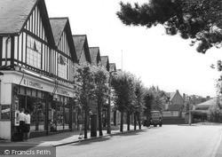 Tadworth, Cross Road c.1960