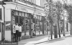 Tadworth, Post Office, Cross Road c.1960