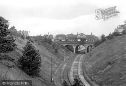Tadworth, Railway Station 1924