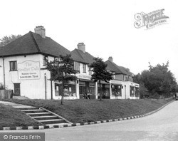 Tadworth, Shelvers Way c.1955