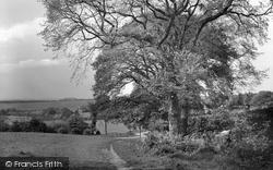 Tadworth, The Downs From Motts Hill, Walton Heath 1933