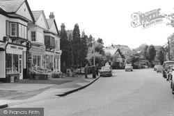 Tadworth, The Parade c.1960