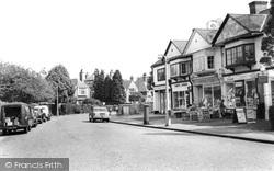 Tadworth, The Parade, High Street c.1960