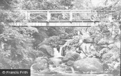 Tal-Y-Bont, Pont-Y-Camau c.1955