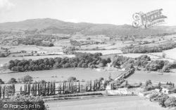 Tal Y Cafn, General View c.1960, Tal-Y-Cafn