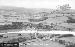 Tal Y Cafn, Hotel And Bridge c.1955, Tal-Y-Cafn