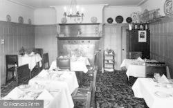 Tal Y Cafn, The Dining Room, Ferry Hotel c.1965, Tal-Y-Cafn